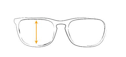 Størrelseguide. Hjælp til at finde den solbrille og brille