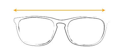 solbriller hvilken størrelse