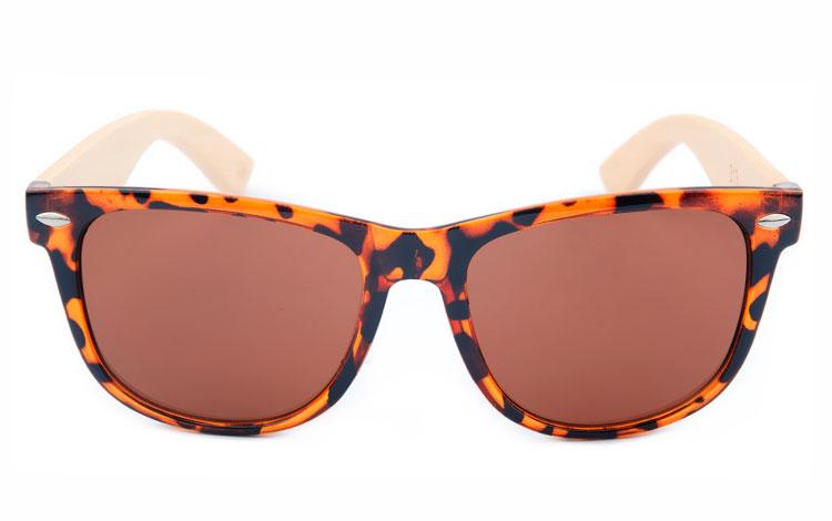 Billiga Wayfarer solbriller solglasögon Brun wayfarer