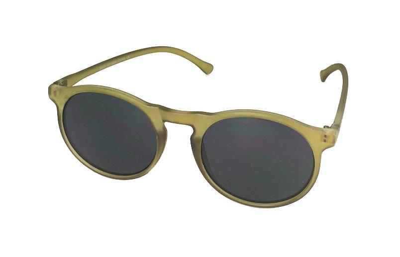 10823fc6eef7 Mat lysegrøn rund solbrille - Design nr. s688 i Runde solbriller
