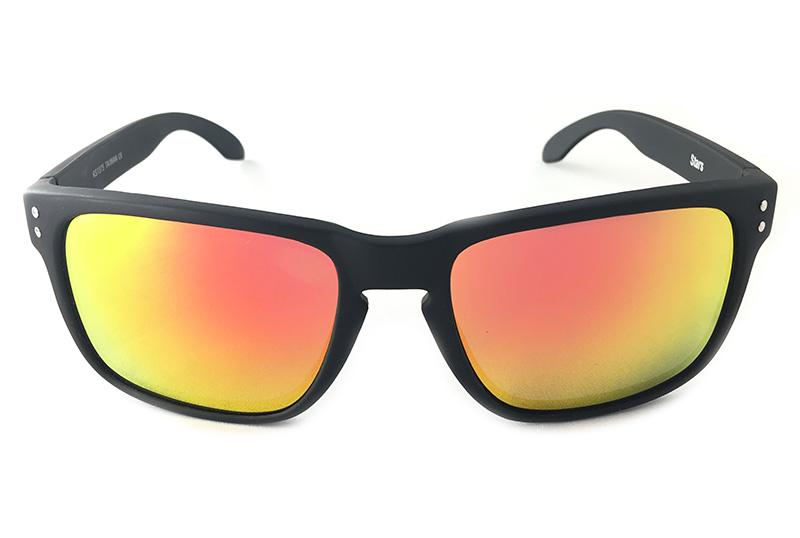 Norges billigste solbriller Maskulin solbrille med rødlige