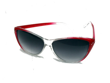 Cat-eye solbrille med sten - Design nr. 1766