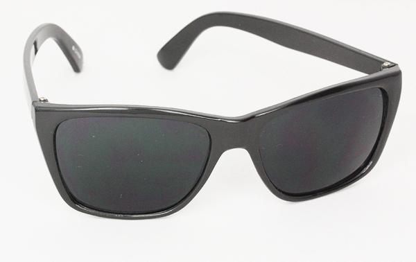 Sort rå maskulin solbrille til mænd Design nr. s3000 i