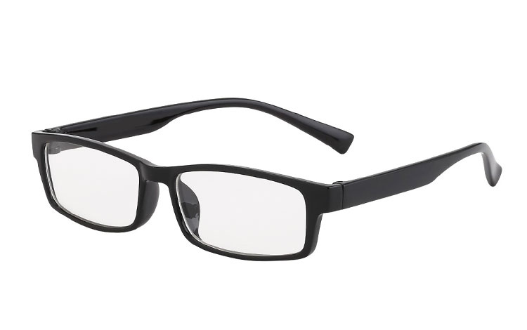 Brille uden styrke i sort design. | search