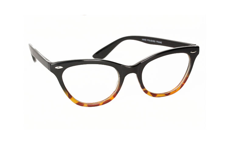 Cateye brille i 50´er - 60´er mode. | cat_eye_solbriller