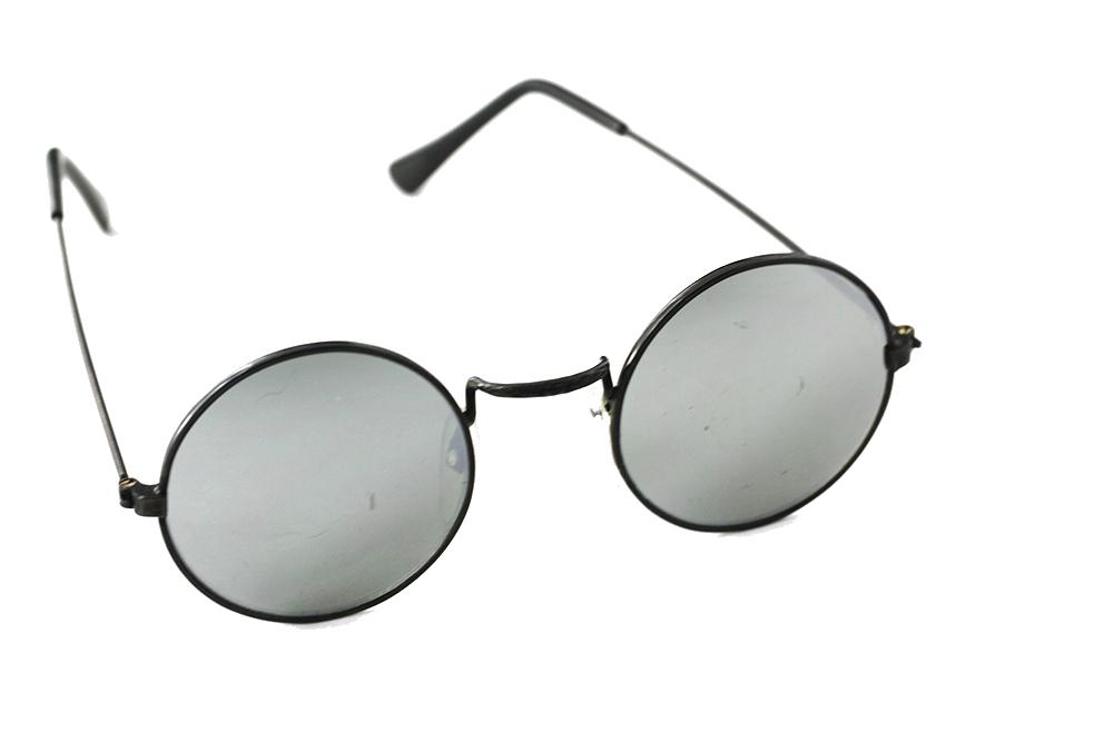 10fd31f538ed Billig Runde solbriller i metal med spejlglas - Norges billigste solbriller