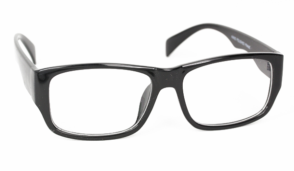 8f0d7e096d74 Billig Sort robust herre brille uden styrke - Sveriges billigaste  solglasögon