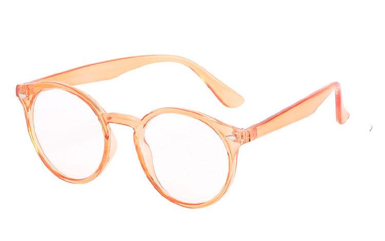 Norges billigste solbriller Rund brille i en smuk lys