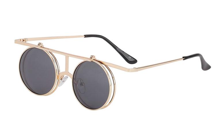 S3690 Flot og spændende Flip up brille solbrille i specielt