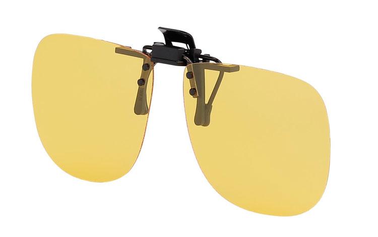 Billig Gul polaroid clip-on solbrille. Perfekte kørebrille - Sveriges  billigaste solglasögon 290922ac820c5