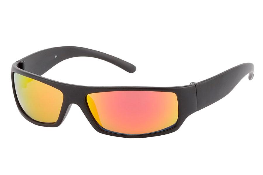 Norges billigste solbriller Sort maskulin solbrille til