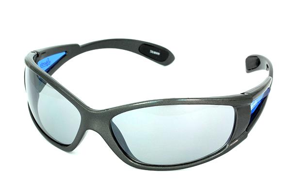 Billig løbebrille i blålig farve Design nr. s616 i Sports