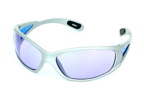 Lys grå løbebrille Design nr. s617 i Sports solbriller og