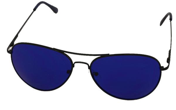 fefdf2259e3d Aviator solbriller med blåt glas - Design nr. s976 i Solbriller med ...