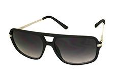 f02ad249e05d Mat sort stilet solbrille til mænd og kvinder - Design nr. 3261