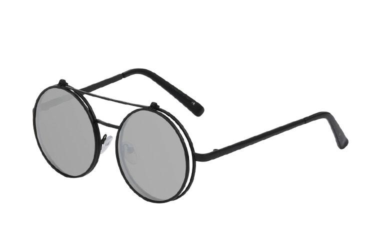 9eaa65c9d038 Oversize   Store solbriller. Vi er billigst i retro-solbriller. Køb.