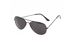 Sort aviator solbrille - Design nr. s267