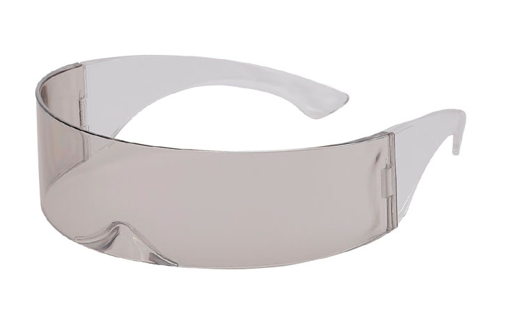 Star Trek / High Fashion solbrille i transparent lysgrå - Design nr. s3644