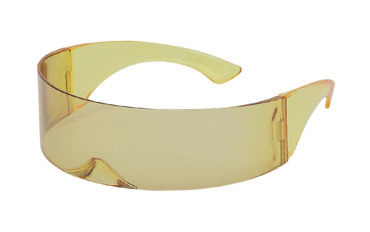 Festival / Spacy solbrille i transparent lysegul - Design nr. s3648