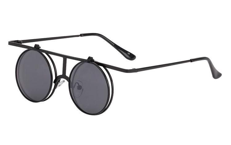 bde17bde400e Flot og spændende brille  solbrille i specielt design med kant. - Design nr.