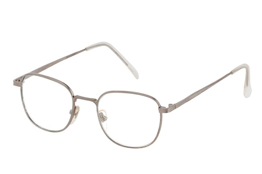 98d0c11cd306 Brille med klart glas uden styrke i sølvfarvet stel. - Design nr. 3780