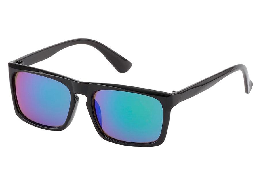 103f8182e399 Sort med spejlglas i blå-grønne nuancer - Design nr. 3817