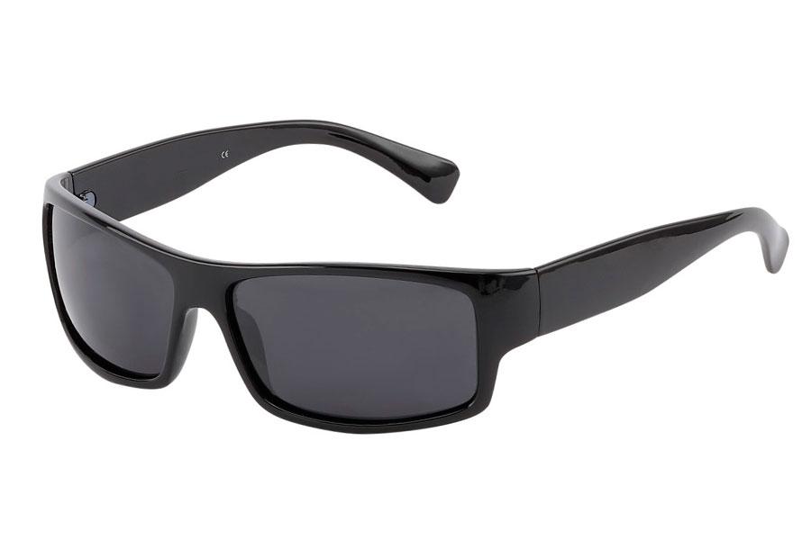 2430c8732cfb Polaroid solbrille i sort maskulint design - Design nr. 3828