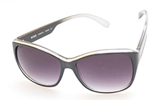 Cat eye solbrille i metal - Design nr. s401
