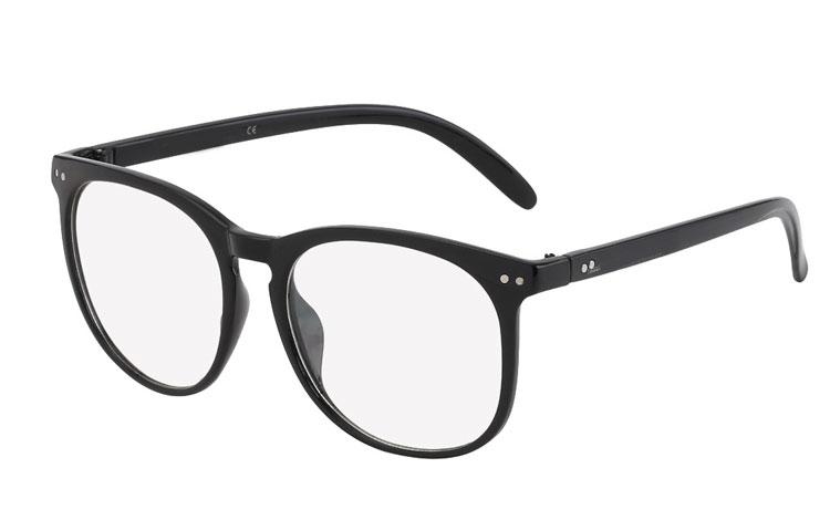 1ef7ab21471c Sort brille uden styrke i flot form design. - Design nr. 686