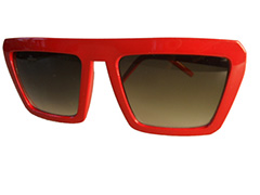 Rød Cartoon solbrille - Design nr. s839